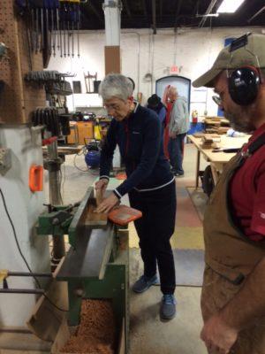 Suzette using joiner supervised by Ken