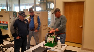 Sharpening Demo at Grizzley 5_17
