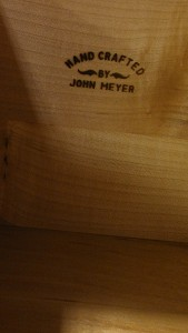Handcrafted John Meyer Stamp