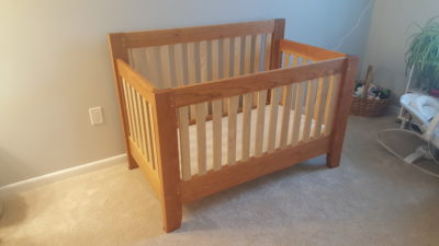 Hand Made Baby Bed